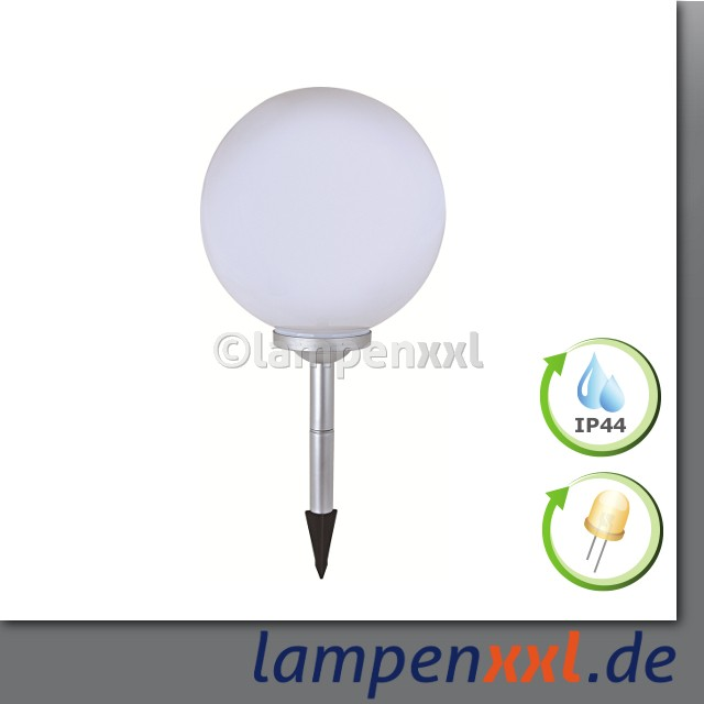 30 cm led solar kugel kugelleuchte lampe gartenlampe gartenleuchte ip44 lampenxxl. Black Bedroom Furniture Sets. Home Design Ideas